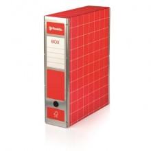 Scatola con cerniera in metallo Brefiocart BOX 4 Resisto 37,5x29,5 cm dorso 9 cm rosso - RESX401.RO