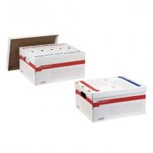 Scatola archivio Sei Rota Memory X file 56x37 cm dorso 27,5 cm bianco 673200