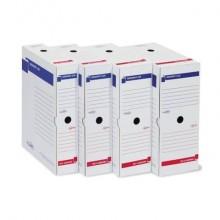 Scatola archivio Sei Rota Memory X 80 25x35 cm dorso 8 cm bianco 673208