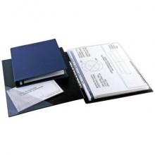 Raccoglitore Sei Rota Sanremo 2000 - 4 anelli D Ø 25 mm 25x35 cm dorso 4 cm blu 34253507