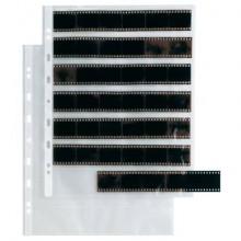 Buste a foratura universale Sei Rota Atla FN 35 per negativi 7 spazi 22x4 cm trasparente  conf. 10 buste - 662531