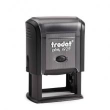 Timbro autoinchiostrante Trodat PRINTY 4929 in plastica 50x30 mm nero 45270