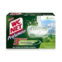 Tavolette igiene WC Net Profumoso mountain fresh 4x34 grammi - M74603
