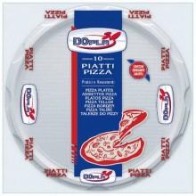 Stoviglie monouso Dopla piatti pizza Ø 320 polistirene bianco conf.10 - 01085