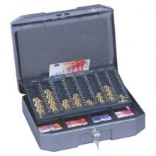 Cassetta portavalori DURABLE €UROBOXX® metallo antracite/grigio 178257