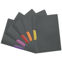 Cartellina con clip DURABLE DURASWING® COLOR polipropilene scuro A4 colore clip assortiti  Conf. 5 pezzi - 230400