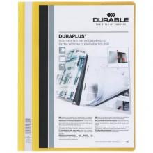 Cartellina ad aghi DURABLE DURAPLUS® A4 giallo 257904 (Conf.25)