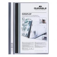 Cartellina ad aghi DURABLE DURAPLUS® A4 grigio 257910 (Conf.25)