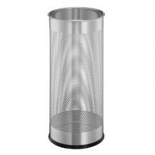 Portaombrelli DURABLE acciaio verniciato argento metallizzato capacità 28,5 lt 335023