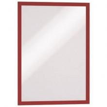 Cornici con pannello magnetico DURABLE DURAFRAME® A3 rosso 325x445mm conf. 2 - 487303
