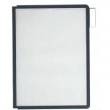 Pannelli espositivi DURABLE SHERPA® A4 polipropilene nero conf. da 5 - 560601