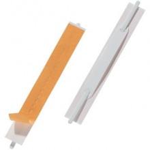 Pressini fermafogli DURABLE FLEXIFIX® CONFEZIONE RETAIL bianco 150x20mm conf. 10 - 691602