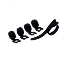 Fascette fermacavi a strappo con asola DURABLE CAVOLINE GRIP TIE 20x1 cm nero Conf. 5 pezzi - 503601