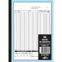 Registro Corrispettivi per dettaglianti flex - blocco di 12/12 copie 29,7x21,5 cm - SE168512C00