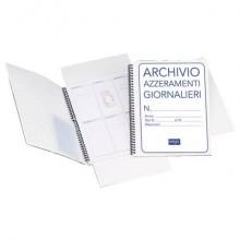 Cartellina azzeramenti giornalieri Multiservice 31x24,5 cm 1820AZT00