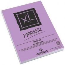 Blocco collato lato corto CANSON XL Marker bianco 70 g/m² 100 fogli A3 C200297237