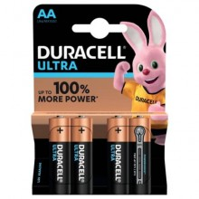 Batterie alcaline Duracell Ultra Power Stilo 1500 AA conf. da 4 - DU0060