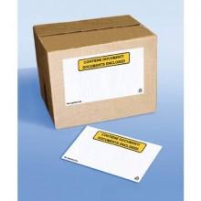 Buste autoadesive portadocumenti WePack f.to 24x18 cm trasparente conf. da 1000 buste - A-441/S