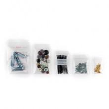 Buste Grip trasparenti WeGrip trasparente con 3 pannelli bianchi f.to 7x10 cm  cf. 1000 pz. - TGS70100