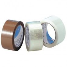 Nastro adesivo da imballo Bonus Tape SYROM 50 mm x 132 m trasparente conf. da 6 -19015