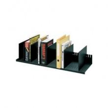 Portariviste Paperflow con 10 separatori mobili nero K421201