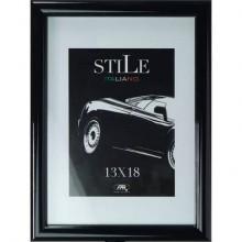 Cornici Methodo Klee in legno da parete A4 nero K990101