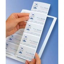 Biglietti da visita Decadry One Click per stampanti inkjet 85x54 mm. bianco Conf. 100 biglietti - T603727