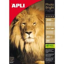 Carta fotografica inkjet Decadry A4 alta qualità - finitura lucida - 240 gr. bianco  Conf. 20 fogli - T900005