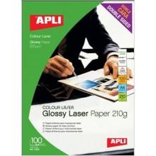 Carta fotografica laser Decadry A4 alta qualità - finitura lucida - fronte/retro 210 gr. bianco Conf. 100 fogli - T900008