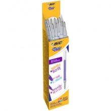 Refill per penne roller BIC Gel-ocity Illusion M 0,7 mm assortiti fun Conf. 12 pezzi - 944101