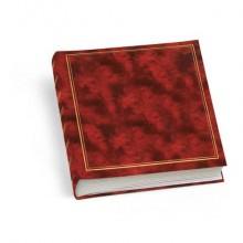 Album portafoto Lebez 40 fogli con velina f.to 25x30 cm rosso 0380-R
