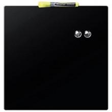 Pannello quadrato magnetico Nobo cancellabile 360x360 mm nero 1903774
