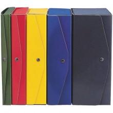 Scatola archivio King Mec Project 25x35 cm dorso 4 cm blu 23304 (Conf.5)