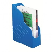 Portariviste King Mec Magazine Rack 25x32 cm dorso 10 cm blu 49104