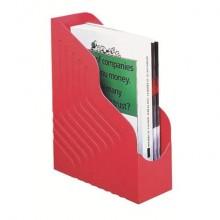 Portariviste King Mec Magazine Rack Jumbo - dorso 10 cm rosso 49111
