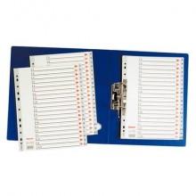 Divisore per rubrica Esselte alfabetica A-Z A4 100112