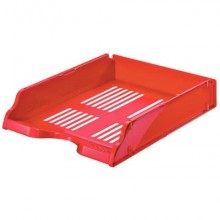 Vaschette portacorrispondenza Esselte TRANSIT polistirene rosso 15656 (Conf.10)