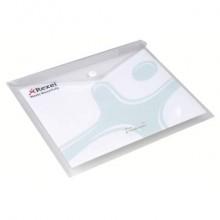 Busta trasparente con bottone Rexel Ice A5 conf. da 5 pezzi - 2101658