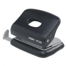 Perforatore a 2 fori Rapid FC20 Fashion 20 fogli nero 23256400