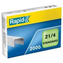 Punti metallici Rapid Standard 21/4  conf. da 2000 - 24867500