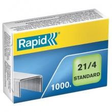 Punti metallici Rapid Standard 21/4  conf. da 1000 - 24867600