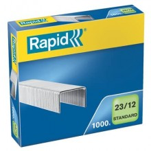 Punti metallici Rapid Standard 23/12  conf. da 1000 - 24869400