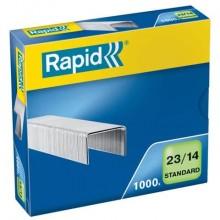 Punti metallici Rapid Standard 23/14  conf. da 1000 - 24869500
