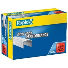 Punti metallici Rapid Super Strong 73/8  conf. da 5000 - 24890300