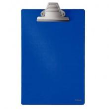Portablocco con clip Esselte Grande Capacità cartoncino/polipropilene 22x36 cm blu - 27355