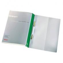 Cartelline ad aghi con clip Esselte Quotation File 23,8x31 cm pvc semirigido verde  conf. da 25 - 28360