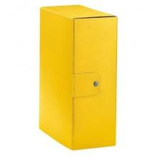 Cartella portaprogetti Esselte C32 EUROBOX dorso 12 cm presspan biverniciato giallo - 390332090 (Conf.5)