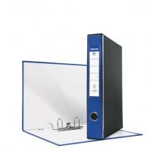 Registratore con custodia Esselte G52 EUROFILE commerciale dorso 5 cm cartone rivestito in PP blu - 390752050