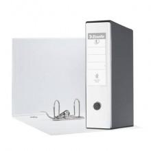 Registratore con custodia Esselte G55 Eurofile protocollo 29,5x35 cm - dorso 8 cm bianco vivida - 390755040