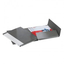 Cartelle a 2 lembi Esselte I55 DELSO LINE 12/I50 bianco/grigio 25x32 cm dorso 1,5 cm  12 cartelle - 390955040